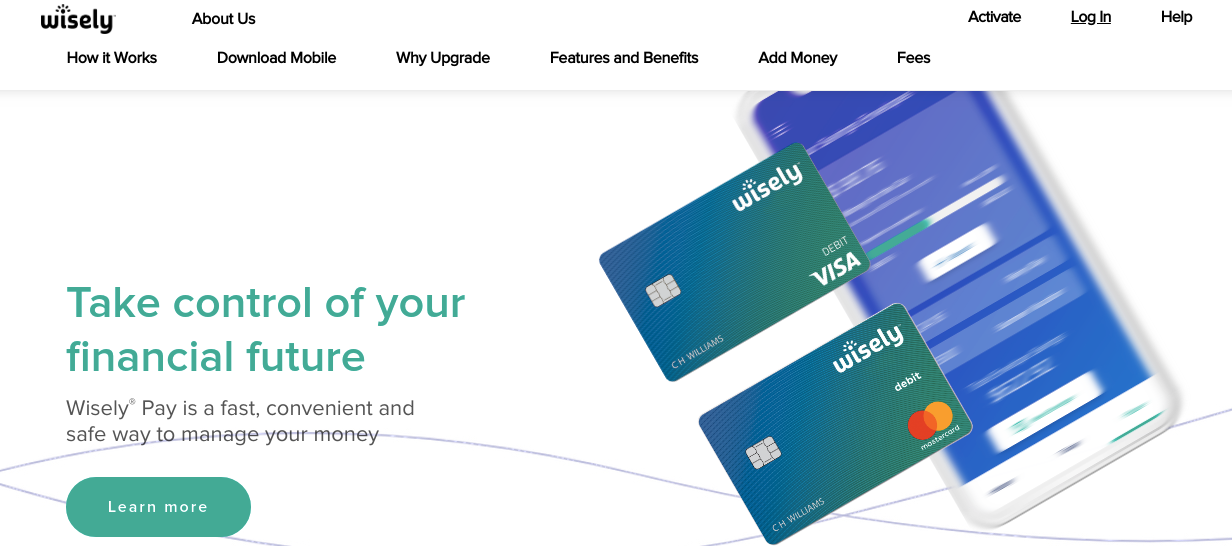 ADP Wisely Card Logo