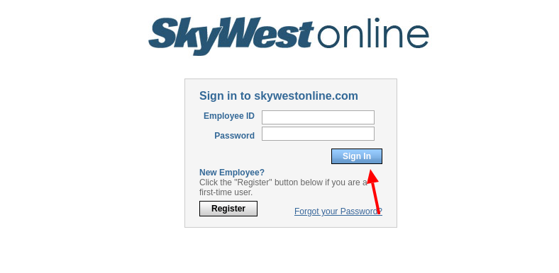 skywestonline login