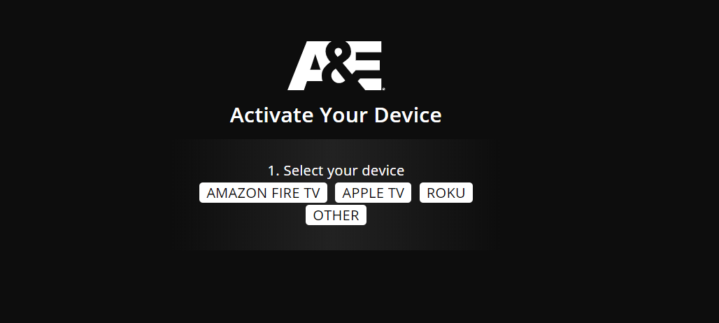 How to Activate A&E TV on Roku and Comcast