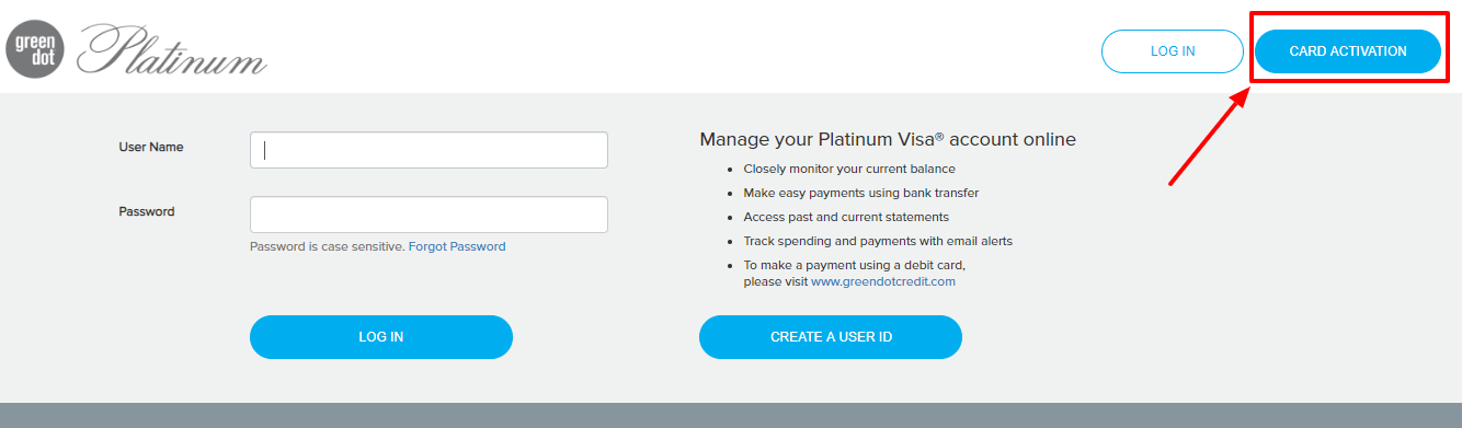 How to Activate Green Dot Platinum Card