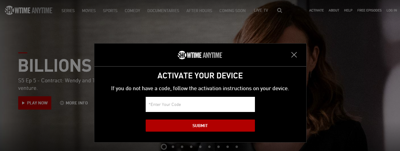 Showtime Anytime on Smart Devices Activate Guide