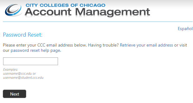 City colleges of chicago student login